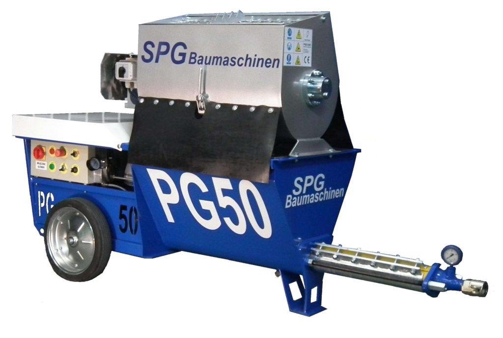 SPGBaumaschinen PG 50M