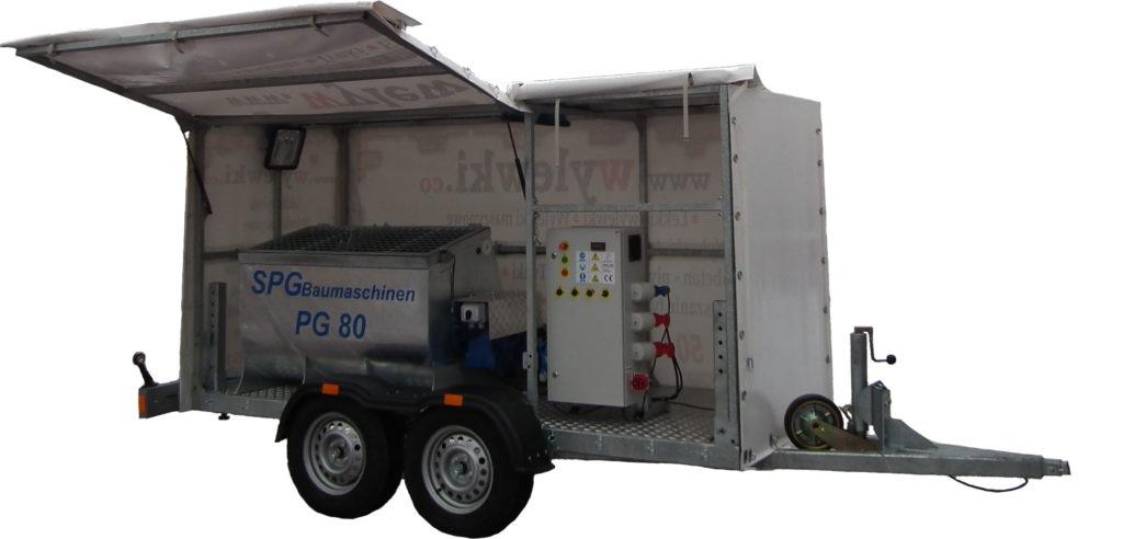 SPGBaumaschinen PG 80