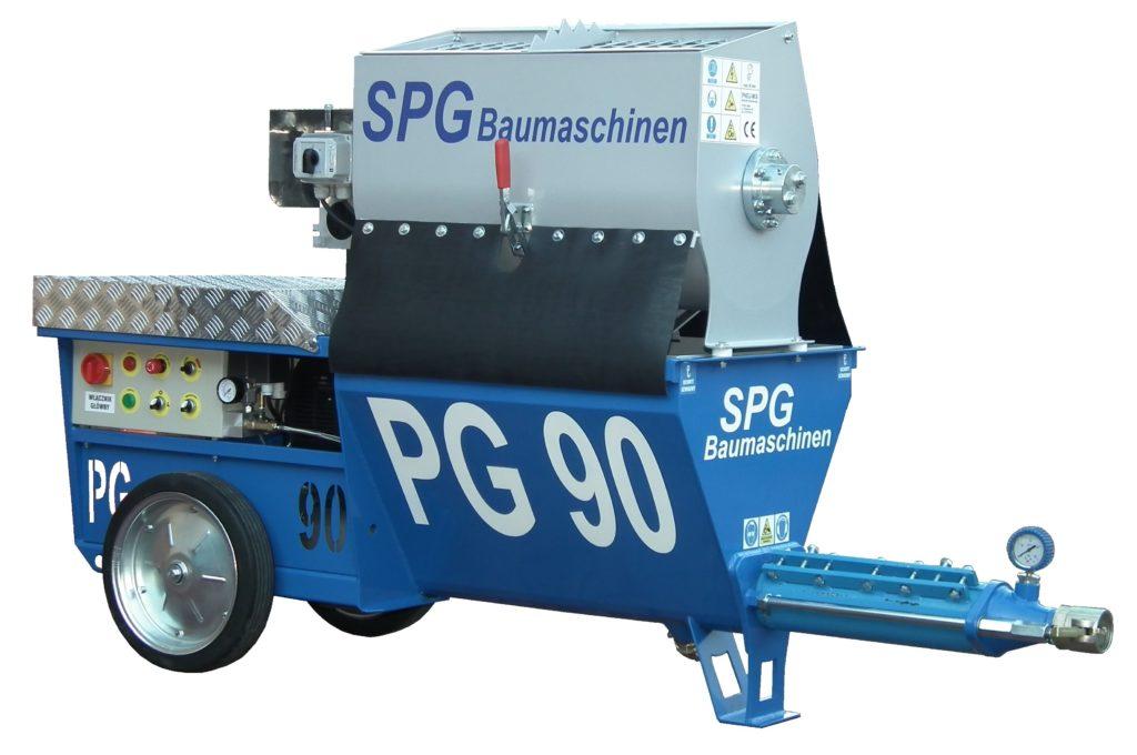 SPGBaumaschinen PG 90M