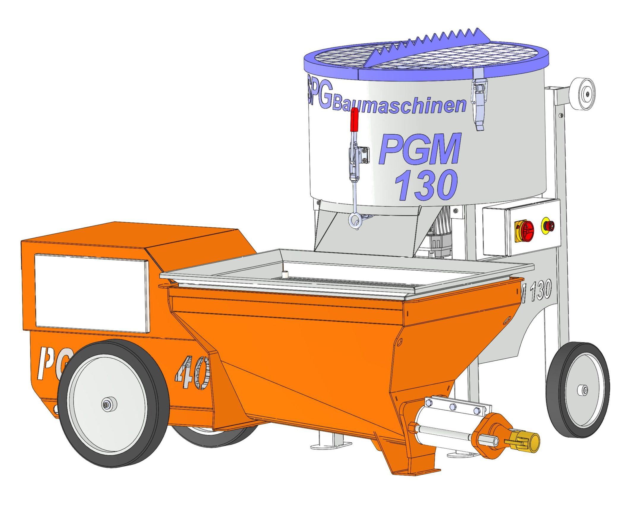 SPGBaumaschinen PGM 130