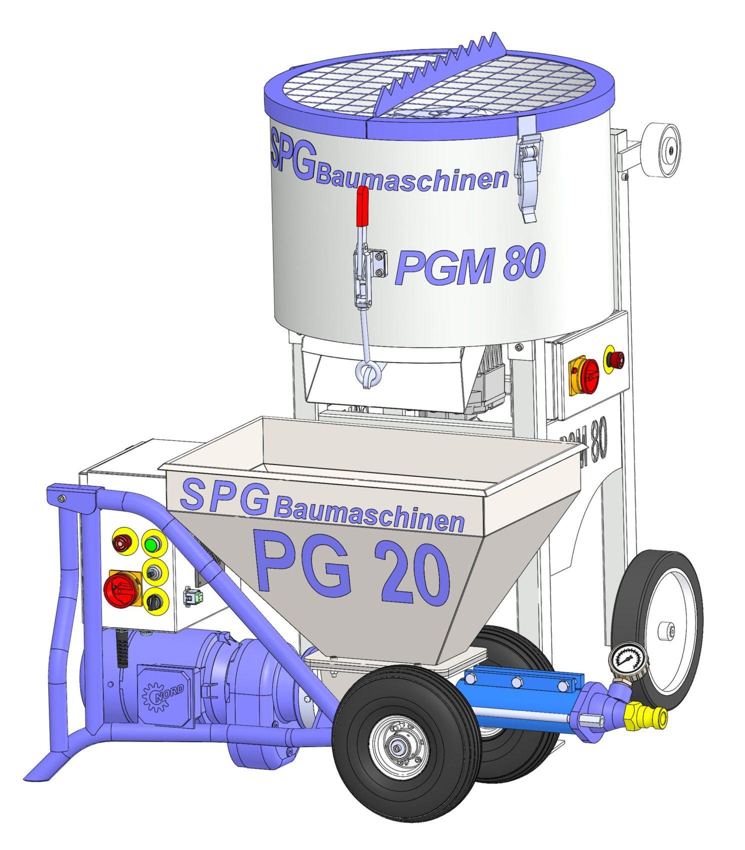 SPGBaumaschinen PGM 80