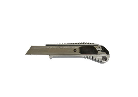 Nóż metalowy z ostrzem wymiennym 18mm