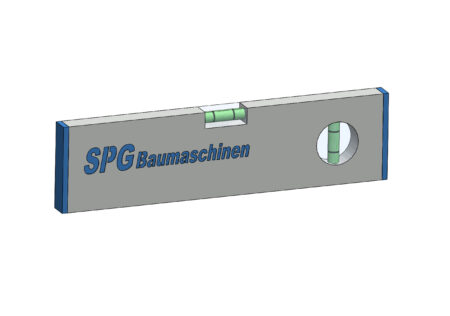 Łata SPG Baumaschinen oczko pion+poziom