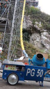Akcja Renowacja - agregat tynkarski PG50