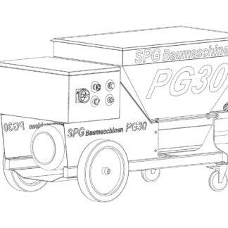 Agregat tynkarski SPGBaumaschinen PG30